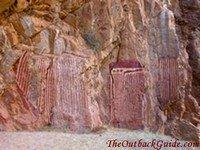 Aboriginal Paintings at Emily Gap