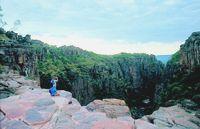 The plateau above Twin Falls