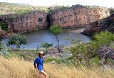 Walking in Katherine Gorge National Park