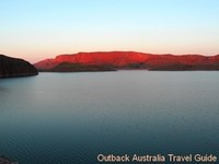 Lake Argyle in the Kimberly Australia