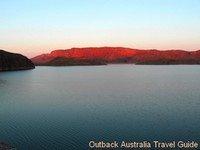 Lake Argyle in the Kimberly Australia