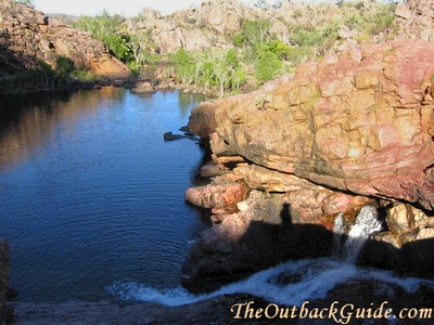 One of the main pools at Koolpin Gorge