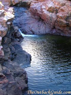 One of the many waterfalls at Jarrangbarni