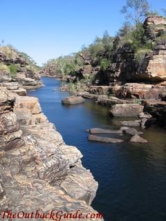 One of the many rock pools at Jarrangbarni