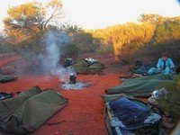 Australian Outback camping tour