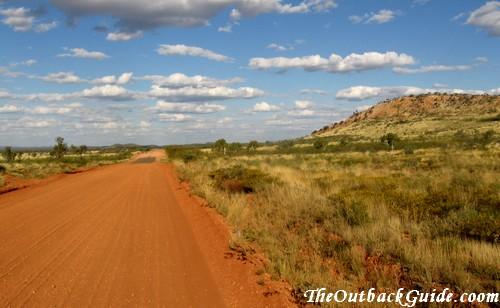 Arid Outback Landscape