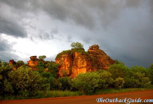 The tropical outback climate - wet season