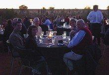 Uluru sunset dinner