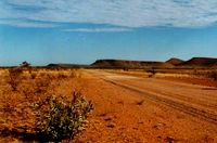 The Tanami Road in Australia.