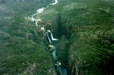 Twin Falls in Kakadu National Park: only accessible by 4WD or air