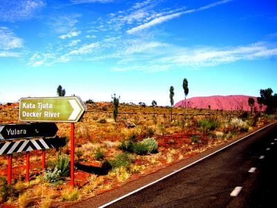 Drive to Uluru/Ayers Rock