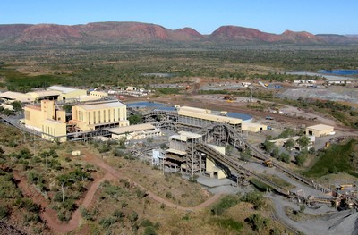 Argyle Diamond Mine Process Plant