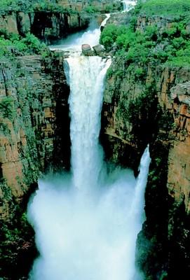 Kakadu in April: Jim Jim Falls