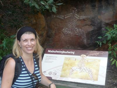 Aboriginal Rock Art at Nourlangie - Kakadu National Park
