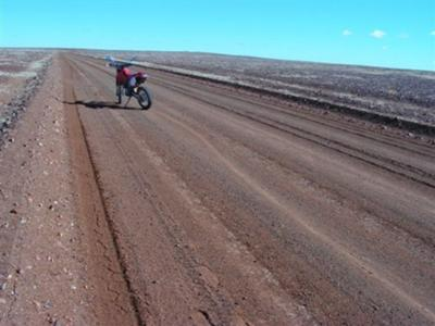 Road to Painted Desert (Oodnadatta to Marla)