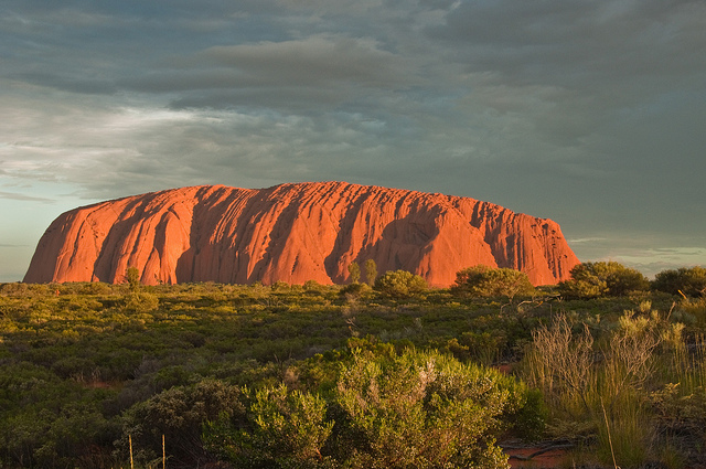 Ayers Rock Uluru Sunset