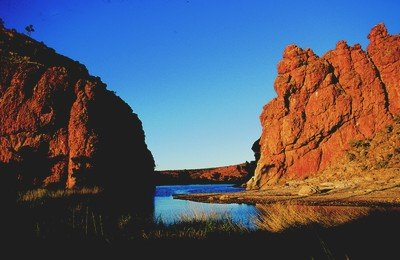 Near Alice Springs: Glen Helen