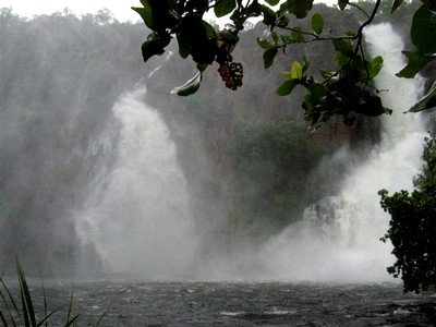 Wangi Falls in Litchfield (wet season)