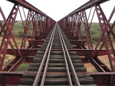 Algebuckina Bridge (Old Ghan Railway)