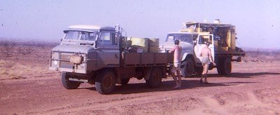 Bush work in the Tanami Desert